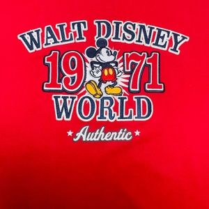 Mickey Mouse Stitched T-Shirt XL